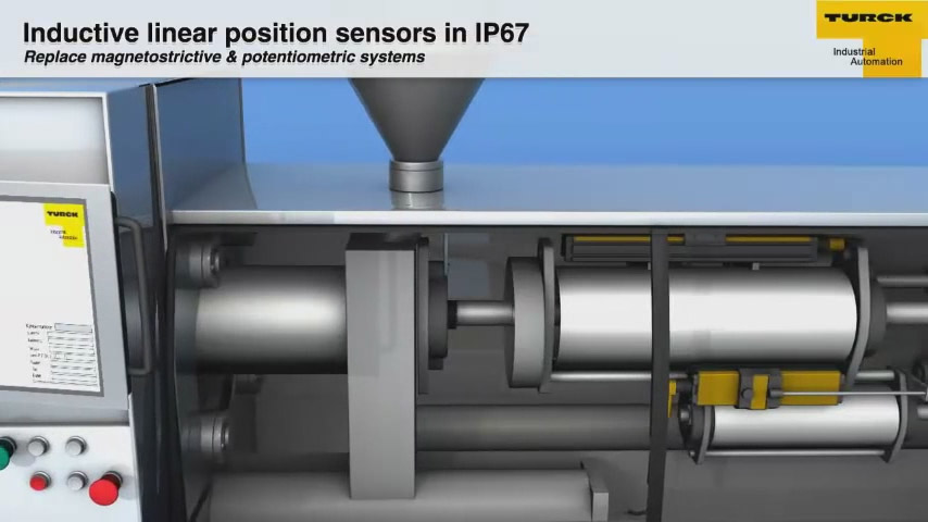 Inductive Linear Position Sensors in IP67