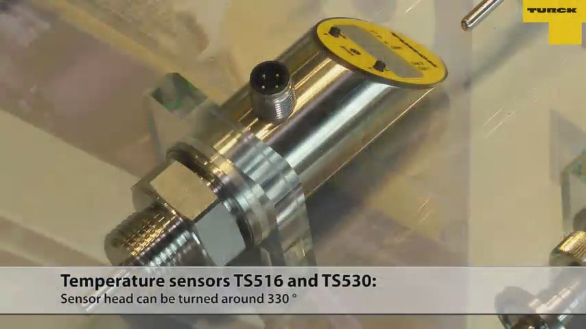 Temperature Sensors - TS516 and TS530
